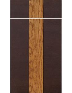 Tafla słoje pionowo pasek pionowy fornirowany