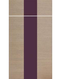 Tafla słoje pionowo pasek pionowy lakierowany